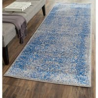 Safavieh Adirondack Vintage Distressed Grey / Blue Rug (2'6 x 8')