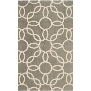 Safavieh Handmade Cedar Brook Grey/ Ivory Jute Rug (2'3 x 3'9) - 2'3 x 3'9