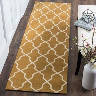 Safavieh Handmade Cedar Brook Yellow/ Ivory Jute Rug (2'3 x 3'9) - 2'3 x 3'9