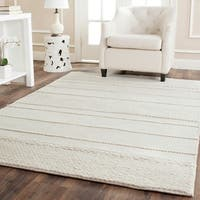 Safavieh Hand-Tufted Natura Natural Wool Rug - 6' Square