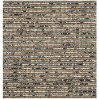 Safavieh Hand-knotted Bohemian Blue/ Multi Hemp Rug - 4' Square