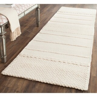 Safavieh Hand-Tufted Natura Natural Wool Rug - 2'3 x 8'