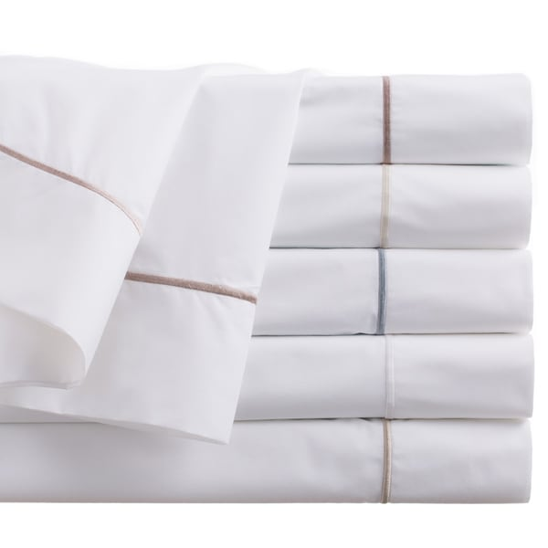 Peacock Alley Satin Stitch Sheet Set