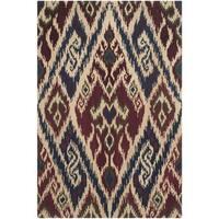 Safavieh Hand-Tufted Capri Blue Wool Rug - 6' x 9'