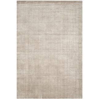 Safavieh Handmade Mirage Modern Silver Wool/ Viscose Area Rug (8' x 10')