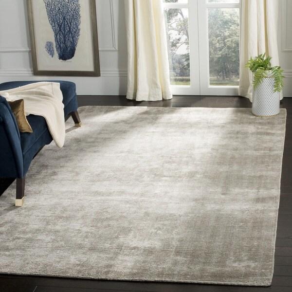 Safavieh Handmade Mirage Modern Tonal Grey Wool/ Viscose Area Rug (8' x 10')