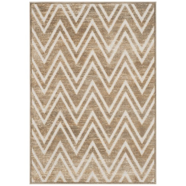 Safavieh Paradise Mouse/ Cream Viscose Rug - 8' x 11'2