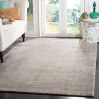 Safavieh Handmade Mirage Modern Tonal Grey Wool/ Viscose Area Rug - 6' x 9'