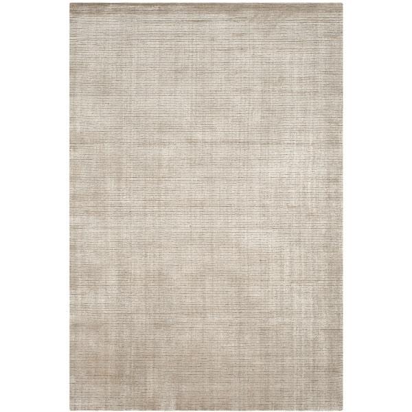 Safavieh Handmade Mirage Modern Silver Wool/ Viscose Area Rug - 9' x 12'