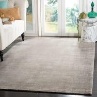 Safavieh Handmade Mirage Modern Tonal Grey Wool/ Viscose Area Rug - 9' x 12'