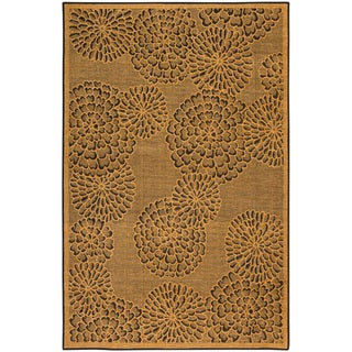 Liora Manne Scattered Flowers Indoor Rug (7'10 x 9'10)