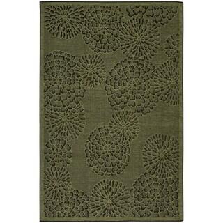 Liora Manne Scattered Flowers Indoor Rug (4'10 x 7'6)