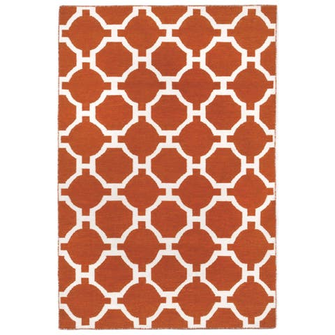 Floor Pattern Outdoor Rug (5'X7'6)