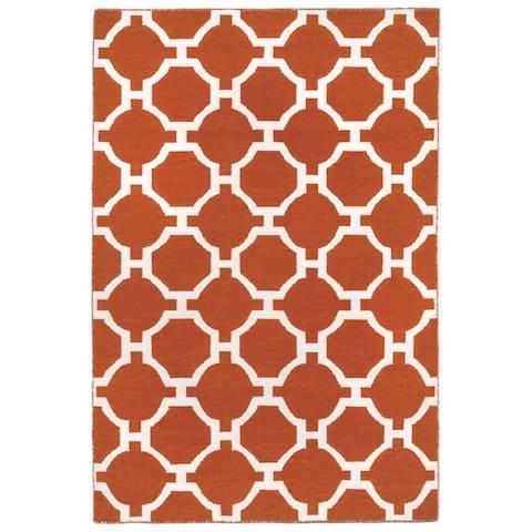 Floor Pattern Outdoor Rug (7'6X9'6)