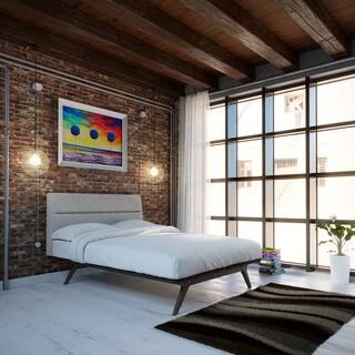 Addison Queen-size Platform Bed Frame