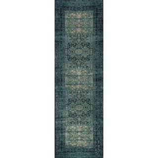 Emerson Indigo Runner Rug (2'4 x 7'9)