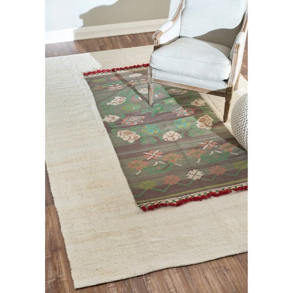 nuLOOM Hand-knotted Transitional Multi Rug (6' x 9') - 6' x 9'
