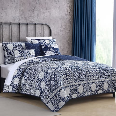 Amrapur Overseas Zion 6-piece Reversible Quilt Set