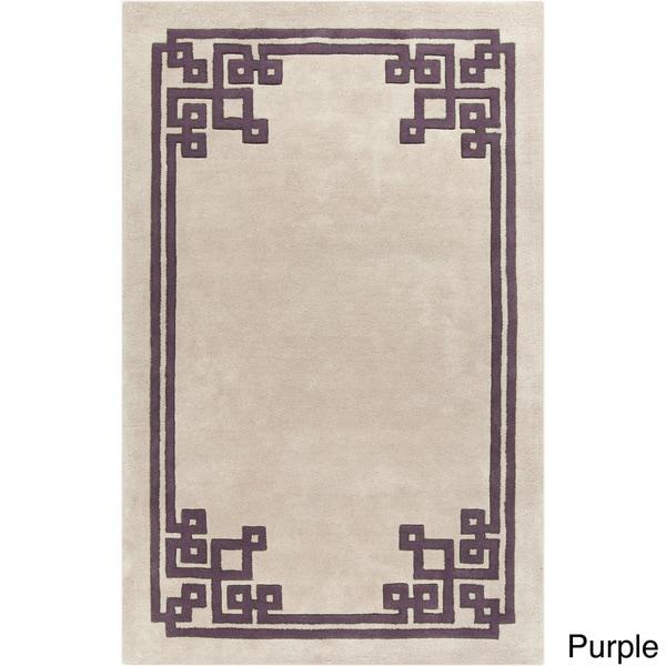 Hand-Tufted Kadence Indoor Wool Area Rug (5' x 8')