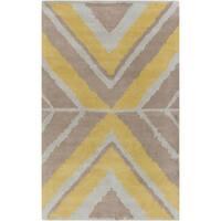 """Hand-tufted Kaitlin Indoor Wool Area Rug - 3'3"""" x 5'3"""""""