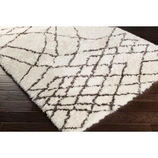 Hand-Tufted Verna Abstract Area Rug - 2' x 3'