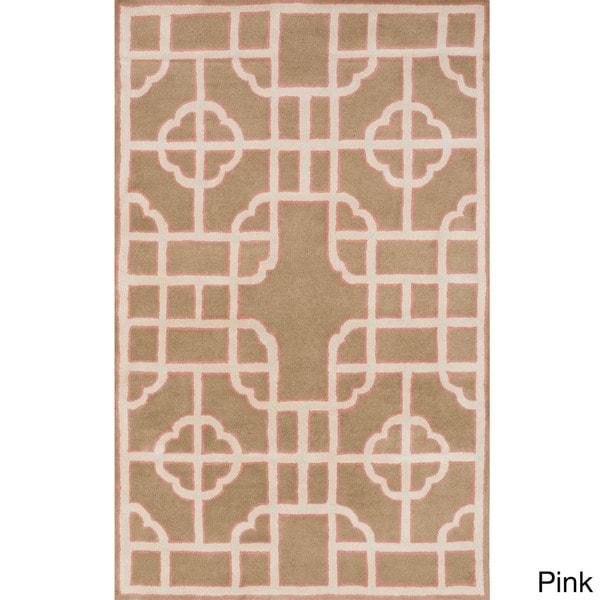 Hand-Tufted Julissa Indoor Wool Rug (8' x 11')