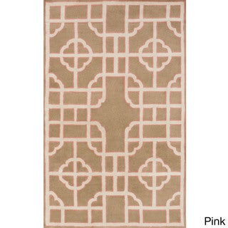 Hand-Tufted Julissa Indoor Wool Rug (8' x 11')