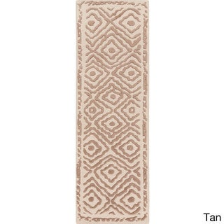 Hand-Knotted Katrine Indoor Wool Rug (2'6 x 8')