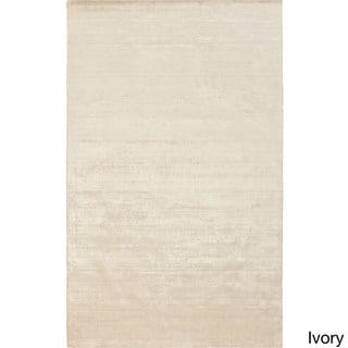 Handmade Pedro Solid Rayon from Bamboo Rug (2' x 3')