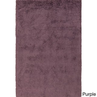 Hand-Tufted Layne Solid Polyester Rug (8' x 10')