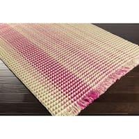 Hand-Woven Karly Stripe Wool Area Rug (4' x 6')