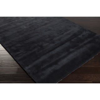 Handmade Jason Solid Viscose Area Rug