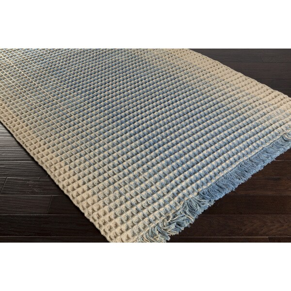 Hand-Woven Kaden Stripe Wool Area Rug - 8' x 10'