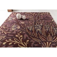 Hand-Tufted Chaucer Contemporary Wool Area Rug - 8' x 11'