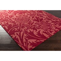 Hand-Tufted Edwards Contemporary Wool Area Rug - 5' x 8'