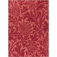 Hand-Tufted Edwards Contemporary Wool Area Rug - 8' x 11'