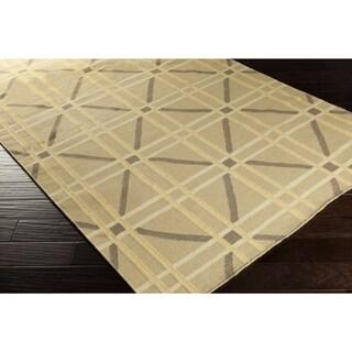 Hand-Woven Killian Geometric Wool Rug (3'3 x 5'3)