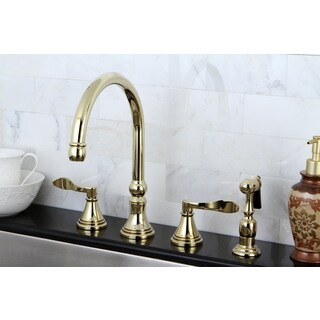 widespread kitchen faucets overstock com the best
