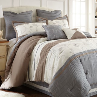 Amraupur Overseas Winter Frost 8-piece Comforter Set