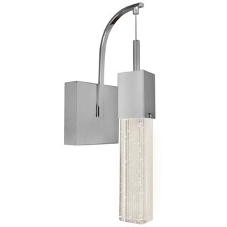 Fizz III Chrome 1-light Wall Sconce