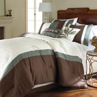Amraupur Overseas Crestwood 8-piece Comforter Set
