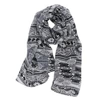 LA77 Women's Long Tribal Scarf