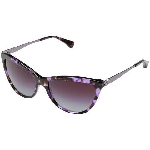 7ea473be184e Shop Emporio Armani Women s EA4030 Violet Cat-eye Sunglasses - Large - Free  Shipping Today - Overstock.com - 9776106