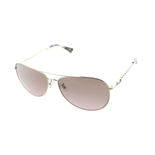 Coach Women's Bree 9190/14 Tortoise Aviator Sunglasses