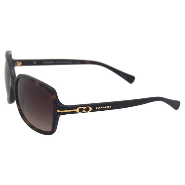 fce897e2b68a8 Shop Coach Women s Blair Dark Tortoise Sunglasses - Free Shipping ...