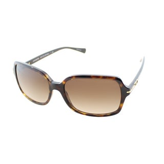Coach Women's Blair Dark Tortoise Sunglasses