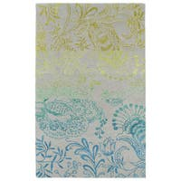 Hand-Tufted Ombre Multi Whimsy Rug - 5' x 7'9