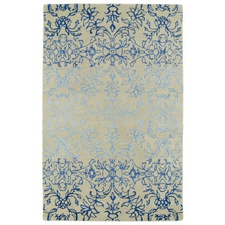 Hand-Tufted Ombre Linen Colored Rug (8' x 11')