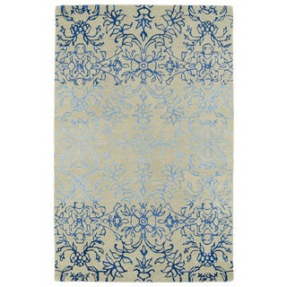 Hand-Tufted Ombre Linen Colored Rug (9'6 x 13')