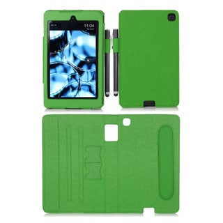 rooCASE Dual View Folio Case Cover Stand for Amazon Kindle Fire HD 6 2014